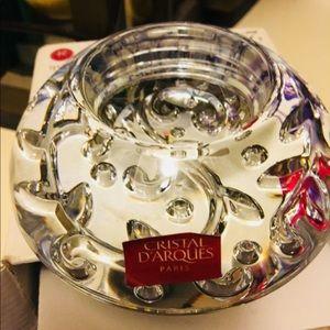 Cristal D'arque candle holder